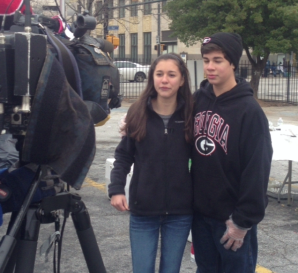 Twin River Teens interviewed on Fox Five News, Atlanta 2013